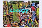 1268-femmes Peul Et Marché Africain - Burkina Faso