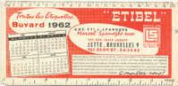 """BUVARD publicitaire -Etiquettes """"ETIBEL"""" - Jette-Bruxelles"""
