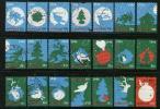 Nederland 1998 December Zegels Gebruikt 1788-1808 # 1341 - Used Stamps
