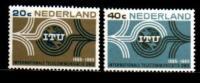 Ned 1965 I.T.U. Zegels 840-841 Mint Hinged  # 164 - Period 1949-1980 (Juliana)