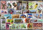 50 Différents RWANDA Neufs / Mint, Tous Grands Formats. - Collections
