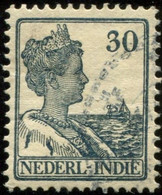 Pays : 232 (Inde Néerlandaise : Colonie Néerlandaise)  Yvert Et Tellier N° :  114 (o) - Niederländisch-Indien