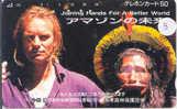 STING Op Telefoonkaart Japan (3) - Personen