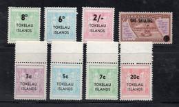 1154 - TOKELAU , Serie N. Yvert 5/8 + 12/15  *** - Tokelau