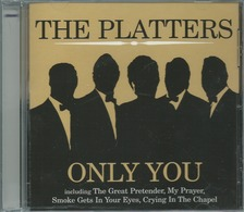 CD THE PLATTERS ONLY YOU - Música & Instrumentos