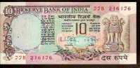 "10 Rupees    ""INDE""        Bc.36 - Indien"