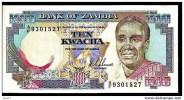 """10 Kwacha     """"ZAMBIE """"       UNC     Bc.52 - Zambie"""