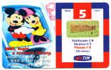 CARTE ITALIE MICKEY MINNIE - Disney