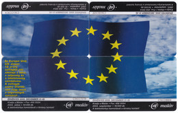 Puzzle - Hungary - Flag Of European Unio 2€ Coin, Beethoven, Flags - Puzzles
