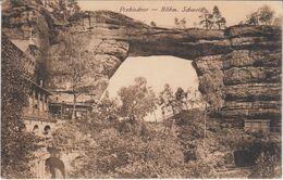 AK PREBISCHTOR Böhmische Schweiz Elbsandsteingebirge 1927 - Tsjechië