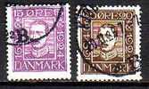 1407) Dänemark Mi.Nr.141+142 Gestempelt - 1913-47 (Christian X)