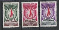 Superbes  -  Unesco  39, 40 Et 42  -  Neufs**  -  Parfait état - Service