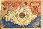 CARTE POSTALE DE LA PROVENCE - LA ROSE DES VENTS - 13 - 83 - 06 - Maps