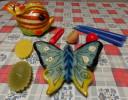 Lotto 9 Candele Artistiche E Decorative - Luminari