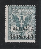ALBANIA - UFFICI POSTALI ALL´ESTERO - Valore Da 5 C. Sopr. ALBANIA 10 Parà. Nuovo  S.t.l. -in Buone Condizioni - DC0665. - Albania