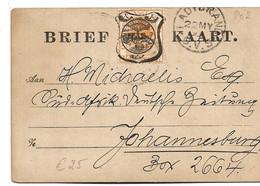 SA-O06/ Orange-River, PO 2, Vorausfrankierung 1899 - África Del Sur (...-1961)