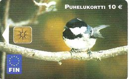 FINLAND 10 MK BIRD BIRDS CHIP ED.2002 READ DESCRIPTION CAREFULLY !! - Finland
