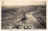 Cp : Carte Photo De  NAMUR Vue Panoramique Du Confluent Sambre Et Meuse - Namur