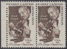 !a! USA Sc# 1754 MNH Horiz.PAIR W/ Left Margin - Cancer Detection - Unused Stamps