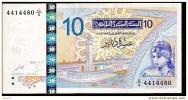 """**nouveau** 10 Dinars """"TUNISIE""""  7 Novembre 2005   UNC  Bc72 - Tusesië"""