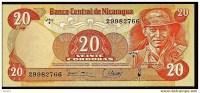 """20 Cordobas   """"NICARAGUA"""" 1979 UNC   Bc85 - Nicaragua"""