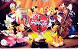 4 Télécartes DISNEY (10) COCA COLA Puzzle. 4 Phonecards Disney In Puzzle - Disney