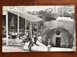 MONTECATINI - Stabilimento Sorgente Olivo, Animata - Cartolina FP 1912 - Italia