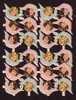 Die-cuts 24 Angels Stickers – 4 1/2 X 6 (12cm X 16cm) Sheet – Mint - Angels