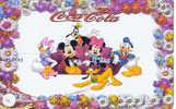 4 Télécartes DISNEY (4) COCA COLA Puzzle. 4 Phonecards Disney In Puzzle - Puzzles
