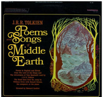 * LP * POEMS & SONGS OF MIDDLE EARTH - J.R.R. TOLKIEN (read By The Writer) USA 1967 Ex!!! - Collector's Editions