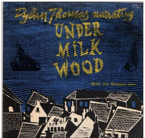 * 2LP * DYLAN THOMAS - UNDER MILK WOOD (USA 1953 Ex!!!) - Collector's Editions