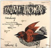 * LP * DYLAN THOMAS READING Volume 2 (USA Still Sealed !!!) - Verzameluitgaven