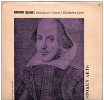 * LP * SPOKEN ARTS: ANTHONY QUAYLE Reading ELIZABETHAN SONNETS AND LYRICS (UK Ex!!!) - Collectors