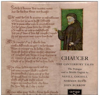 * LP * CHAUCER - PROLOGUE TO THE CANTERBURY TALES (UK 1966 Ex!!!) - Collector's Editions