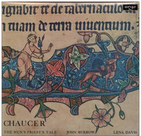 * LP * CHAUCER - THE CANTERBURY TALES / THE NUN´S PRIEST´S TALE (UK 1966 Ex!!!) - Collector's Editions