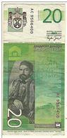 "20 Dinars    ""SERBIE""       2006        Ble. - Bosnia Erzegovina"
