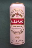Bierdose Aus Estland: A. LE COQ PREMIUM - Cannettes