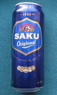 Bierdose Aus Estland: SAKU ORIGINAL (neu) - Cannettes