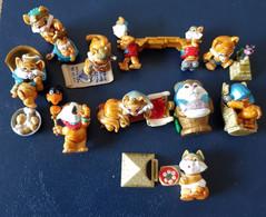 Miezi Cats 1998 - Kompletter Satz Incl. BPZ - Diddl & Ü-Eier