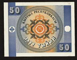 "Lot 1-10-50 Tyiyn ""KIRGHIZISTAN""     P1 2  3  UNC   Ble41 - Kirgisistan"