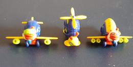 Ü-Ei - Snail Airlines 1997 - Kompletter Satz Mit BPZ - Diddl & Ü-Eier