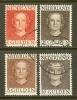 NEDERLAND 1949 Juliana Serie 534-537 Used # 1161 - Period 1949-1980 (Juliana)