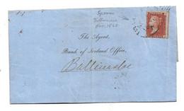 Irl007/Victoria, 1 Penny, 1860 Spoon Stempel Tullamore, Irish Type RR - 1922 Provisional Government