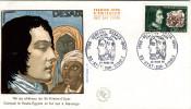 1968 France - FDC Enveloppe 1er Jour - Général DESAIX - OPJ 23/03 Ayat-sur-Sioule (63) - N°1551 - 1/2 Côte - 1960-1969