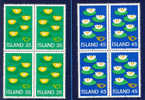 Idée Européenne- Islande Y&T 473/74** En Blocs De 4 - Island