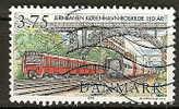 DANEMARK - N° Y.T 1158 Oblit - Trains