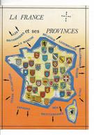LA FRANCE Et Ses PROVINCES Anciennes Et Nouvelles / CPM NEUVE N° DP 170 Editions Dubray/ TTBE Peu Courante - Cartes Géographiques