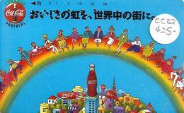 JAPAN 50 U COCA COLA  BOTTLE TAMURA READ DESCRIPTION CAREFULY !! - Japan