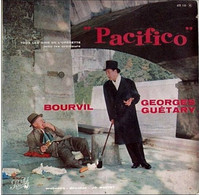 Bourvil & Georges Guetary LP *Pacifico* - Oper & Operette