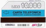 TELECARTE ITALIE 31.12.1994 SE TI GIRA DI COLPIRE SEAT LIRE 10000 * - Télécartes